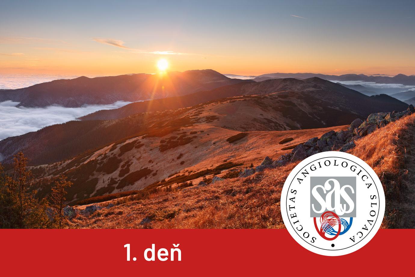 XXVIII. SLOVENSKÝ ANGIOLOGICKÝ KONGRES - 1. deň
