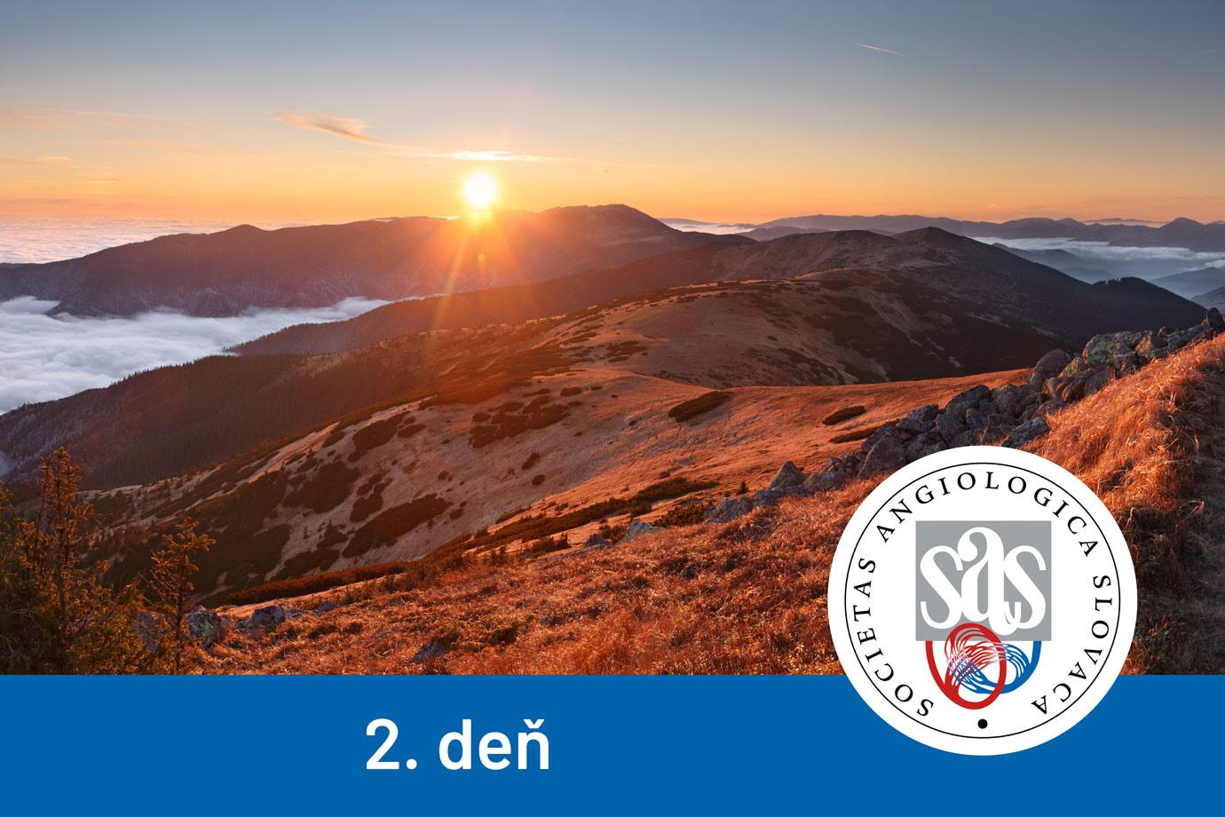 XXVIII. SLOVENSKÝ ANGIOLOGICKÝ KONGRES - 2. deň