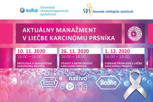 Aktuálny manažment v liečbe karcinómu prsníka 10.11.2020