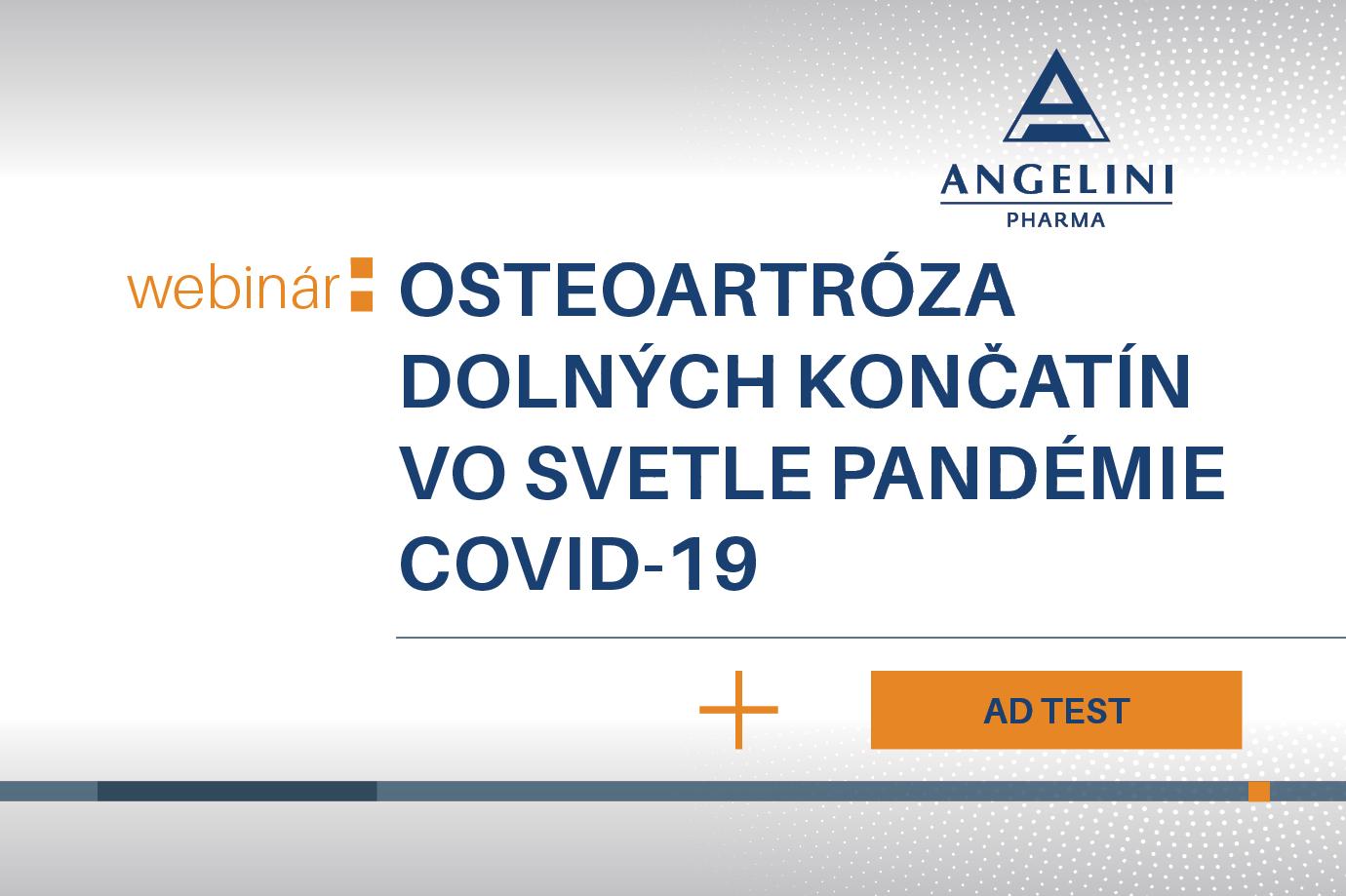 Osteoartróza dolných končatín vo svetle pandémie COVID-19