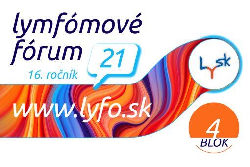 Lymfómové fórum 2021 BLOK 4