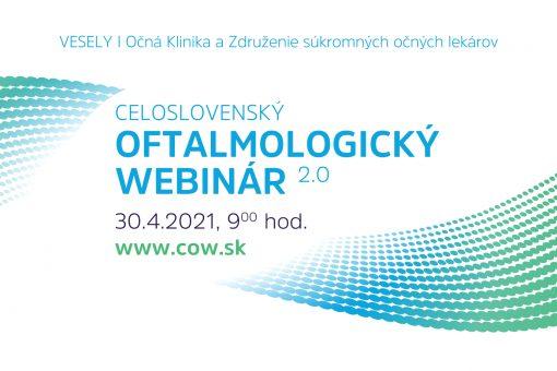 CELOSLOVENSKÝ OFTALMOLOGICKÝ WEBINÁR 2.0
