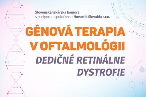 Génová terapia v oftalmológii - Dedičné retinálne dystrofie