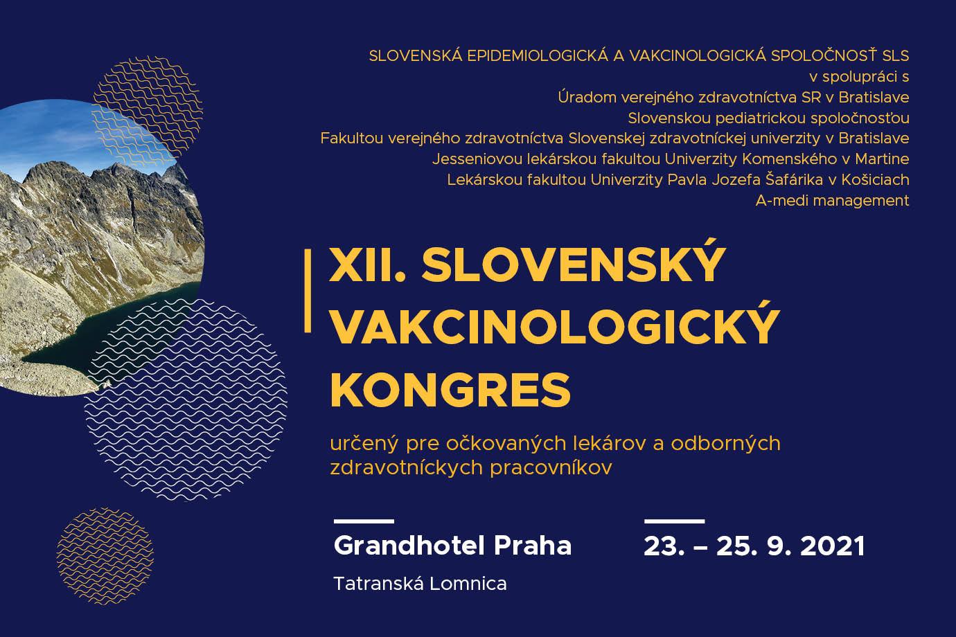 XII. Slovenský vakcinologický kongres